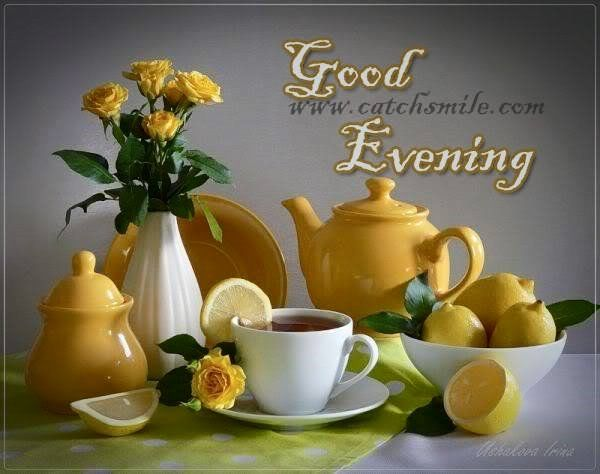 Good evening everyone have a great evening....!!