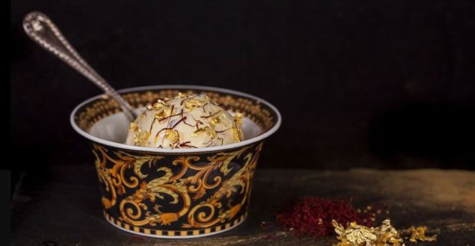 Dubai's Scoopi Café Offers the World's Most Expensive Ice Cream Scoop #food trendhunter.com