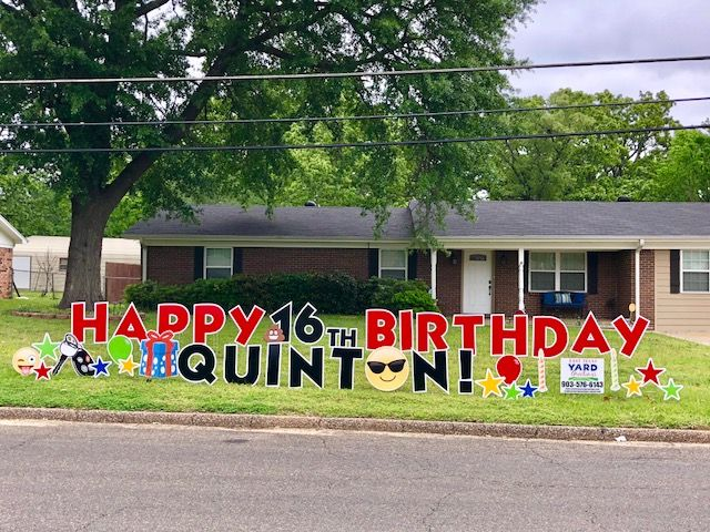 Pin By East Texas Yard Greetings On Boy Birthdays Happy Birthday Yard Signs Birthday Yard Signs 50th Birthday Party