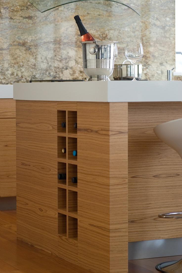 Patricia Gray | Interior Design Teak Kitchen Island With Built In Wine  Storage Part 97