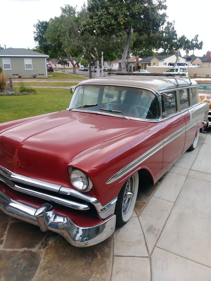 Hot 2 Tone Bel Air in Top Shape. 1956 Chevy chevrolet