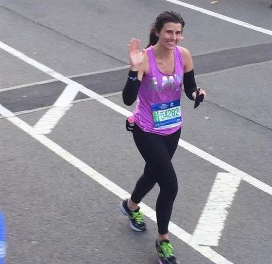 Things I wish I knew before running a marathon - Amy Eley running the New York City Marathon