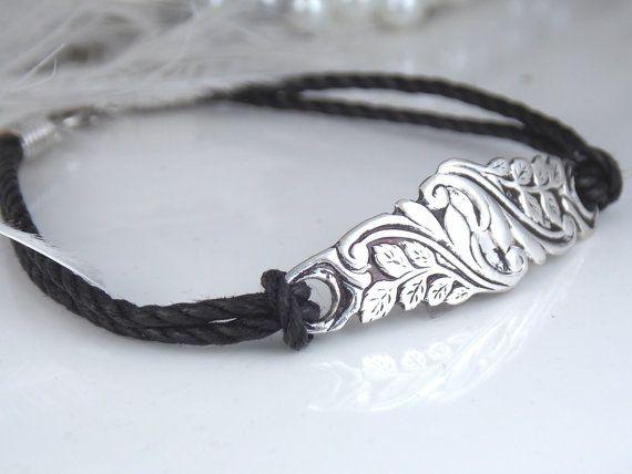 Spoon Jewelry Bracelet Spoon Bracelet HAND by SimplySilverr