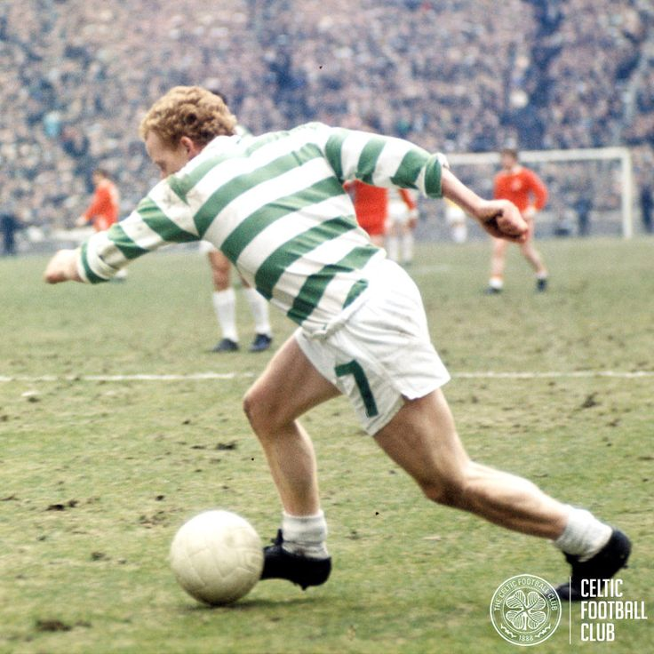 Jinky in action for Celtic