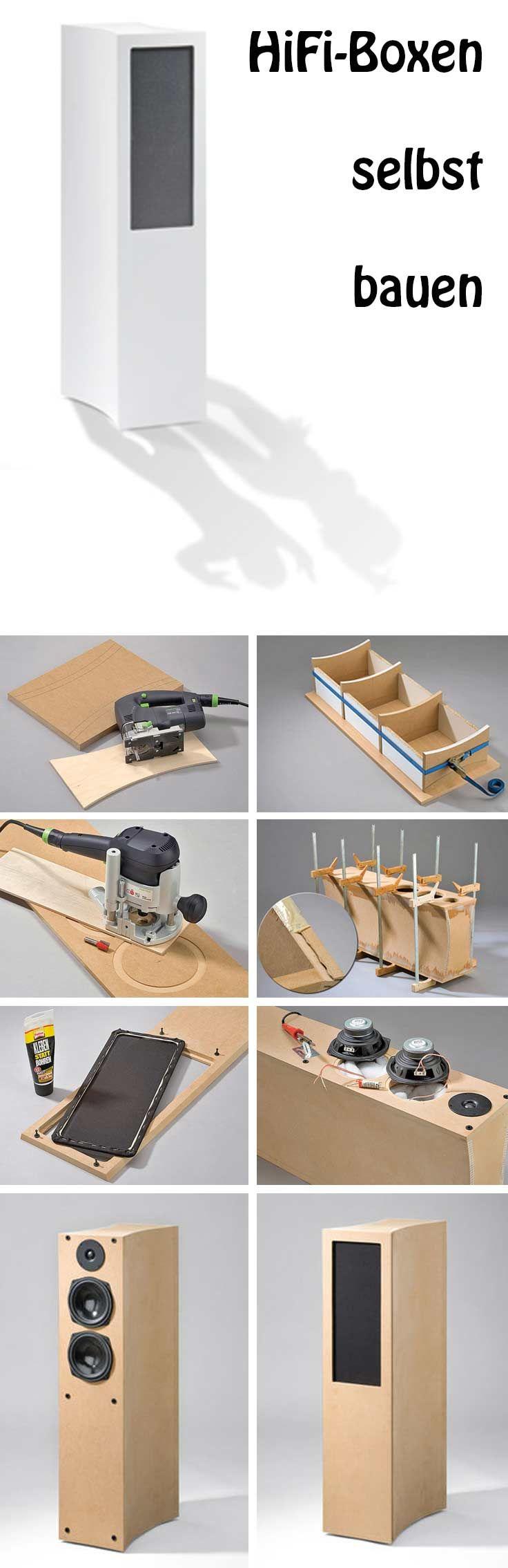 Mit Hilfe unserer Bauanleitung kann man Hifi-Boxen selbst bauen. Wir zeigen Schritt für Schritt, wie es geht.