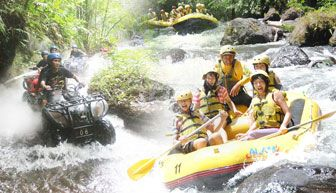 Bali Rafting + ATV Ride Adventure