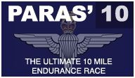 Paras 10, One of my Favourite endurance runs in catterick Garrison, 10 miles of hills, hell and paras shouting at you to go faster!!!
