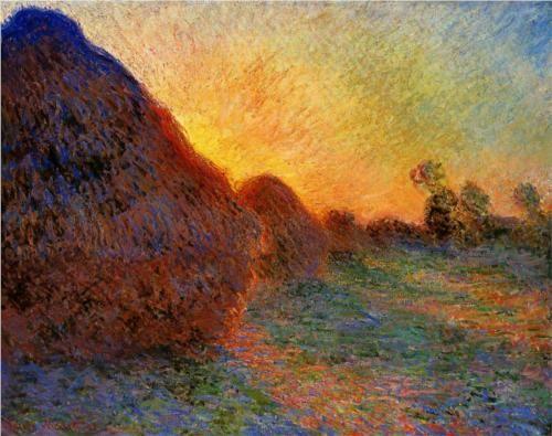 Grainstacks - Claude Monet