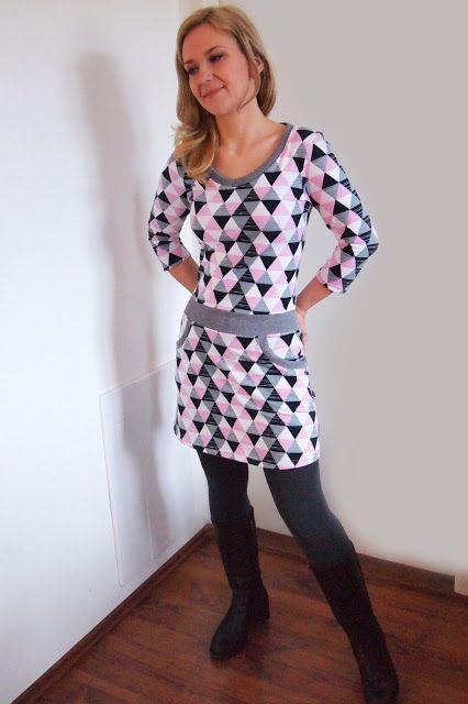 Jersey dress from Ottobre 2/2015
