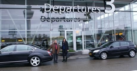 Book online taxi from amsterdam airport to city center