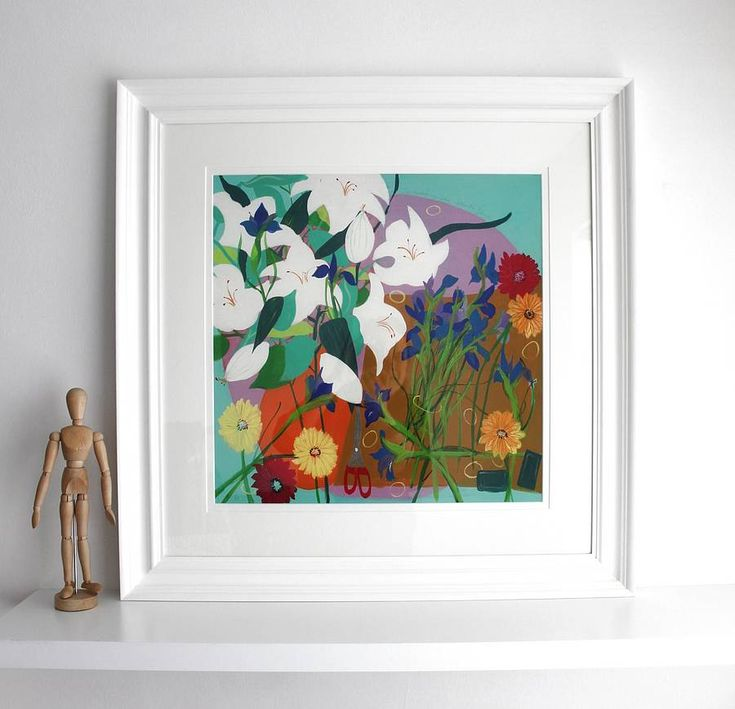 'the arranging table' limited edition print of 95 by samantha barnes artist | notonthehighstreet.com