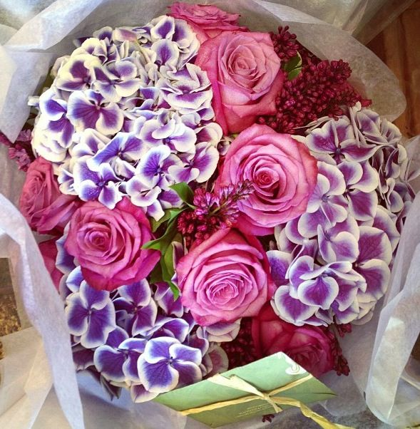 Flowers from A! Romantic! #PiagetRose