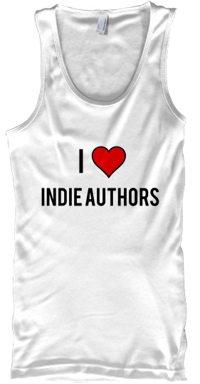 I love Indie Authors Tank
