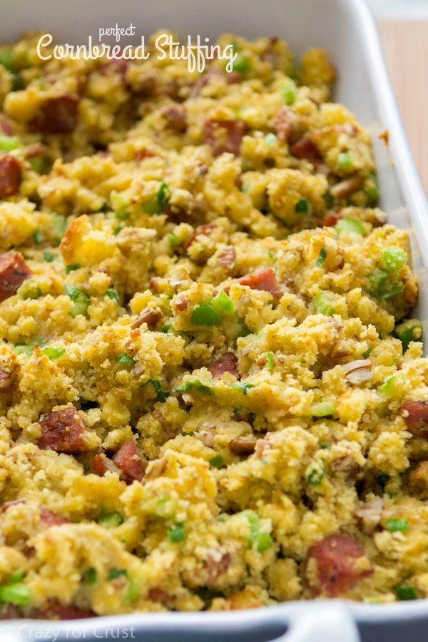 Cornbread Stuffing with Andouille Sausage