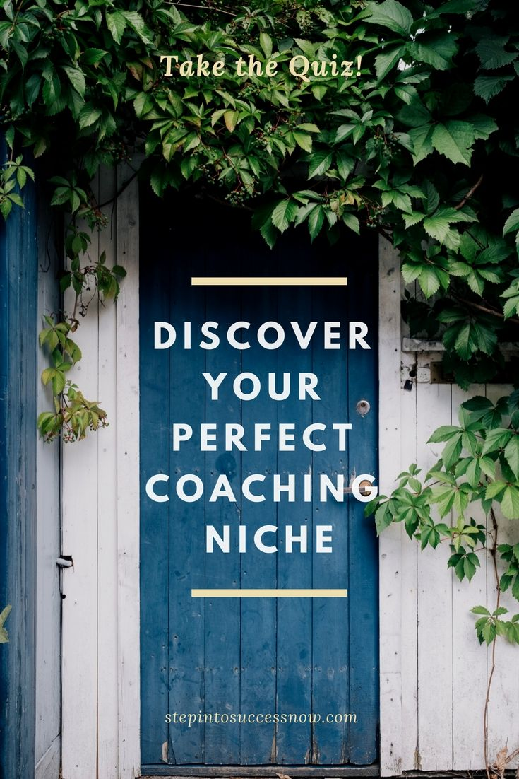 How to find the perfect niche for your coaching business. Take the quiz now! https://candymotzek.lpages.co/perfect-niche-quiz-p/