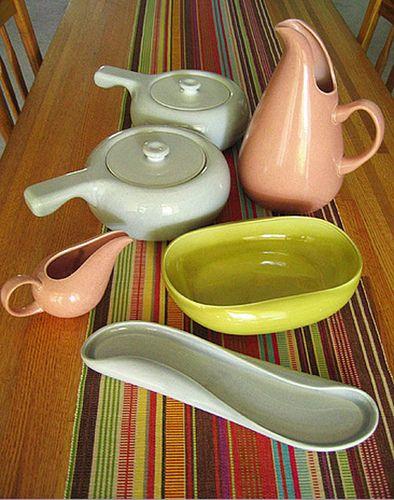 Russel Wright Dinnerware by decor8, via Flickr