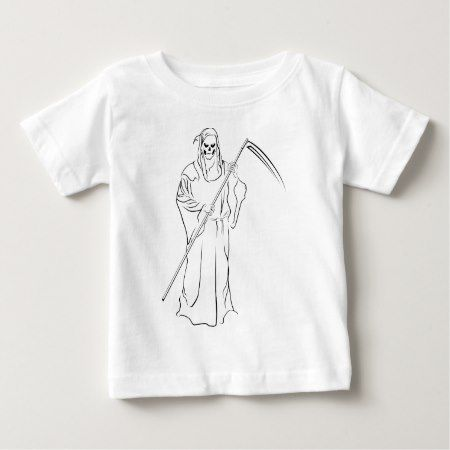 Gevatter/Godfather/Grim Baby T-Shirt - click/tap to personalize and buy