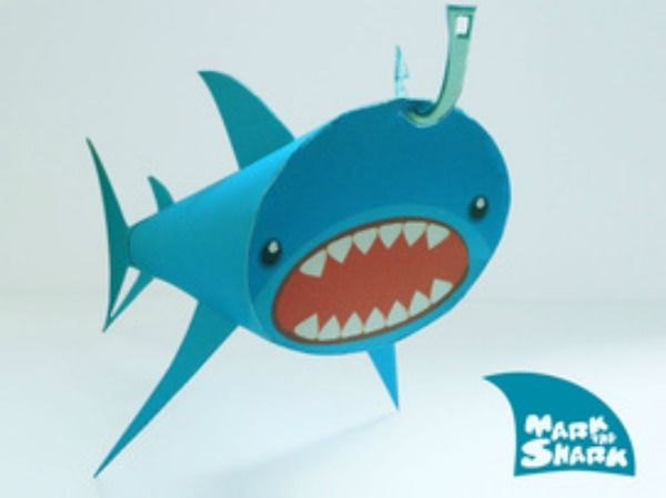Shark Paper Toy : Best images about shark on pinterest activities