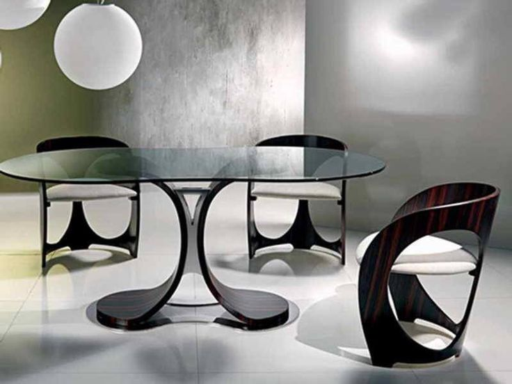 8 Best Dining Images On Pinterest  Architecture Armchair And At Home Brilliant Oval Dining Room Table And Chairs Design Ideas