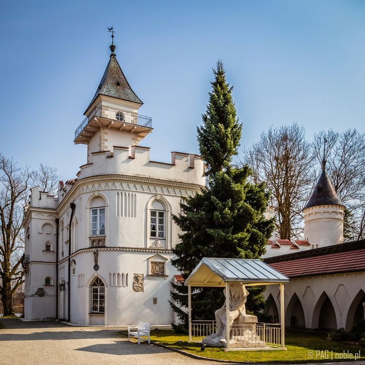 Krasinscy chateau in Radziejowice, Poland