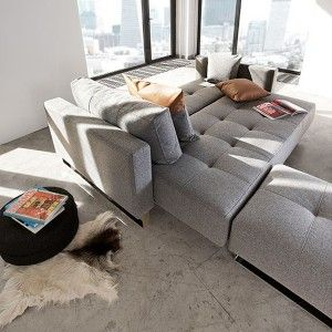 Cassius Deluxe Sofa Bed and Footstool