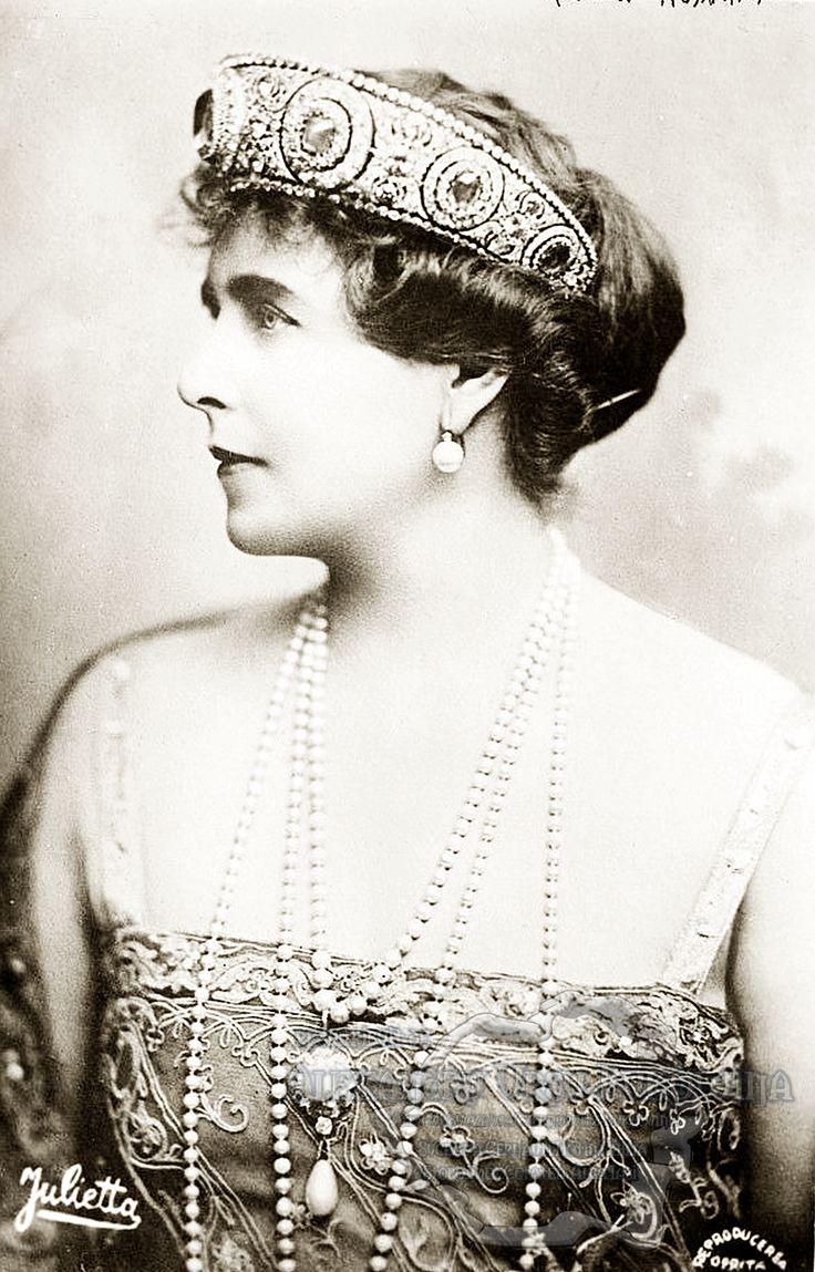 Queen Marie of Romania.