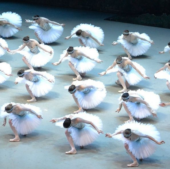Paris Opera ballet corps de ballet  La Bayadere  photo: la petite photographe    Ballet Beautiful | ZsaZsa Bellagio - Like No Other