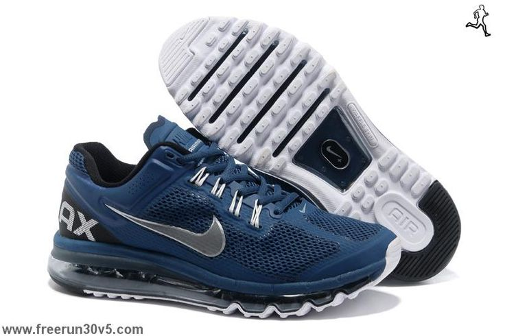 nike air max for men | Cheap Shoes For Sale Mens Nike Air Max 2013 Squadron Blue Reflective ...