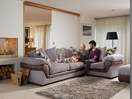 sofa- looks good but was not so comfy