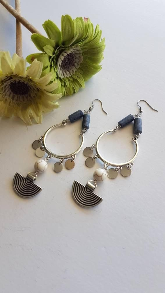 Check out this item in my Etsy shop https://www.etsy.com/listing/602329007/handmade-earrings-boho-earrings-silver