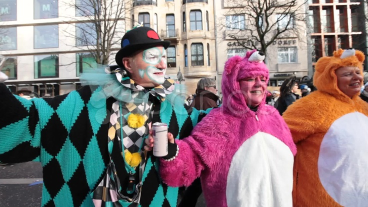 Rosenmontag Karneval Carnival Düsseldorf Germany - Stock Footage | by ionescu  #rosenmontag #karneval #carnival
