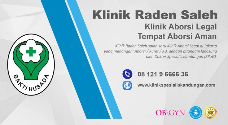 KLINIK RADEN SALEH | CALL : 081219666636