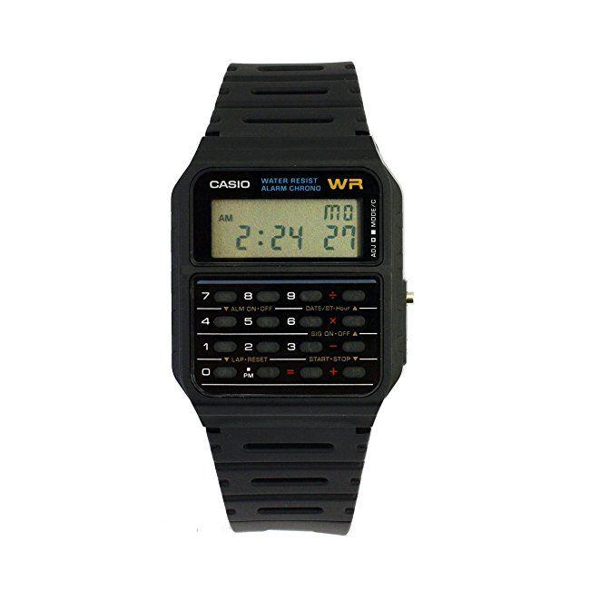 #womens #watches Casio Unisex Digital Watch with Resin Strap CA-53W-1ER