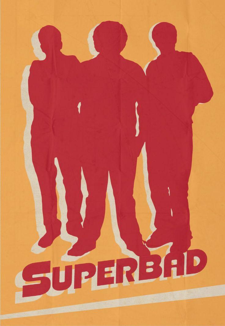 Superbad (2007) ~ Minimal Movie Poster by Rory Adams #amusementphile