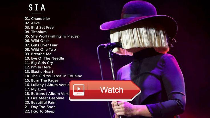 Sia Greatest Hits New Album Sia Best Songs Playlist Music Cover  Sia Greatest Hits New Album Sia Best Songs Playlist Music Cover