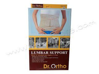 Jual Alat Kesehatan: Lumbar Korset Dr Ortho