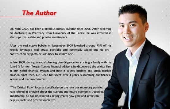 The man behind the book! Meet the Author - Dr. Alan Chan!  www.thecriticalflaw.com/blog
