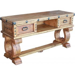 Don Carlos TV Unit Rustic Furniture
