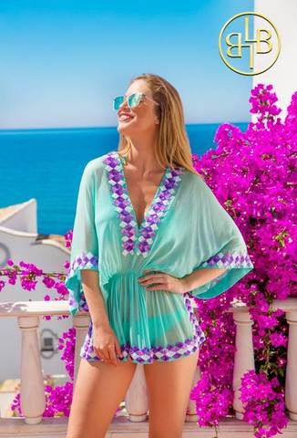 418f5f644f18 Mint Designer Silk Kaftan Top Mint is a new stunning colourway to our 2019  Manhattan Collection. Mint suits all skin tones and goes fabulously with  the ...