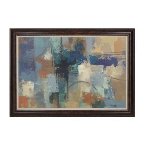 Abstract Blues Framed Art Print | Kirklands