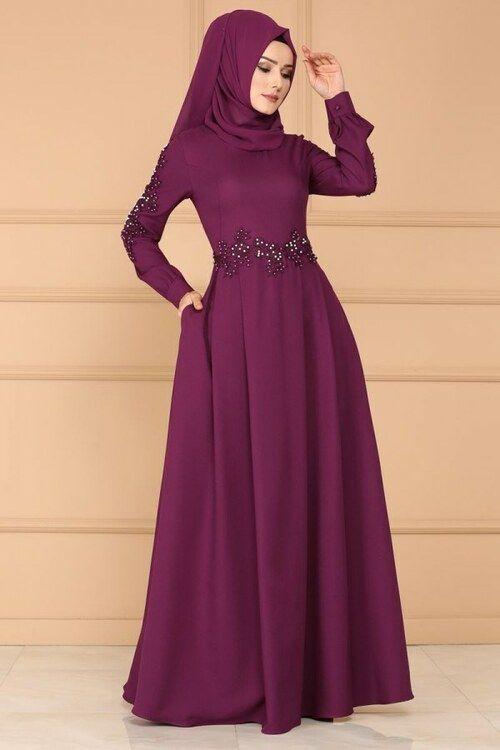 Modaselvim Elbise Gupuru Incili Pileli Elbise Msw8494 Sarabi With Images Fashion Dresses Fashion Abaya Dress