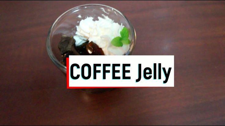 탱글탱글 집에서 달콤 쌉쌀 커피젤리 만들기! coffee jelly