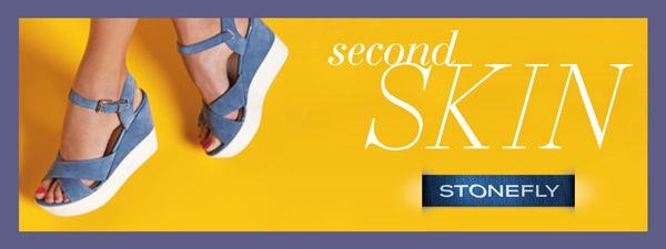 second skin #Stonefly: comfortable and light as your second skin