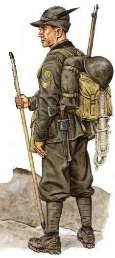 """Regio Esercito, battaglione Val d'Orco, divisione alpina """"Taurinense"""", sottufficiale, pin by Paolo Marzioli"""