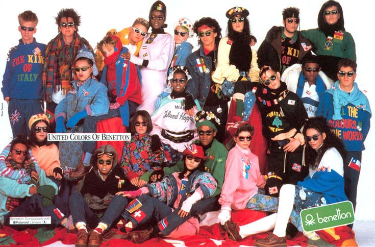 Benetton 1984 - United of colors