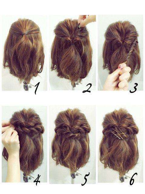 Halblange süße Haarschmuck   - Hair - #Haarschmuck #Hair #Halblange #süße - #Haarschmuck #halblange - #HairstyleDIYShort