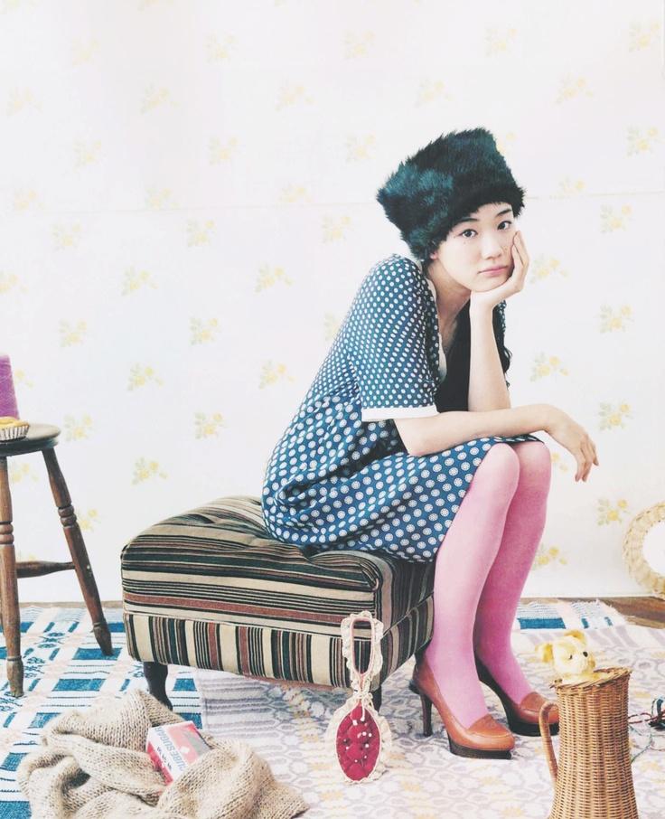 Yu Aoi : Pink Tights