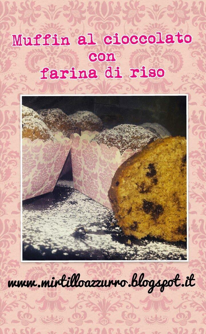 Mirtillo Azzurro: Ricetta Smart & Easy: Muffin al cioccolato con far...