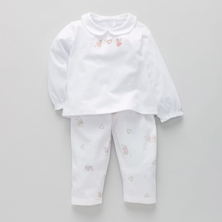 Fairy Heart Collared Pyjamas | The White Company
