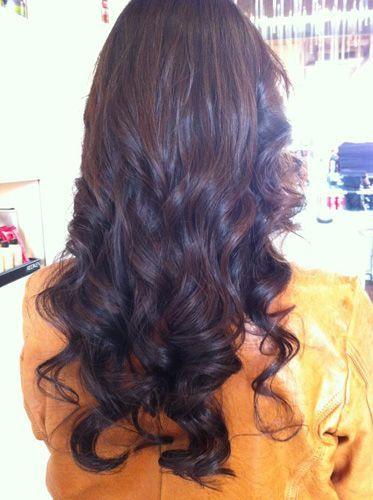 big digital perm curls